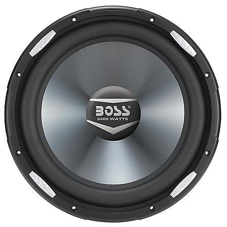 "Boss Audio 12"" Subwoofer Dual Voice Coil (4 Ohm) 2400-watt"