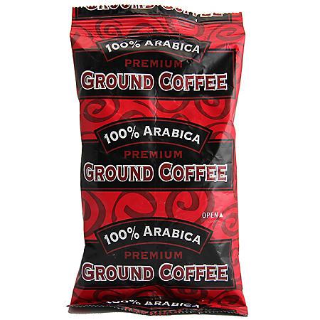 100% Arabica Ground Coffee, Bold Roast  (2.5 oz. Portion Packs, 84 ct.)