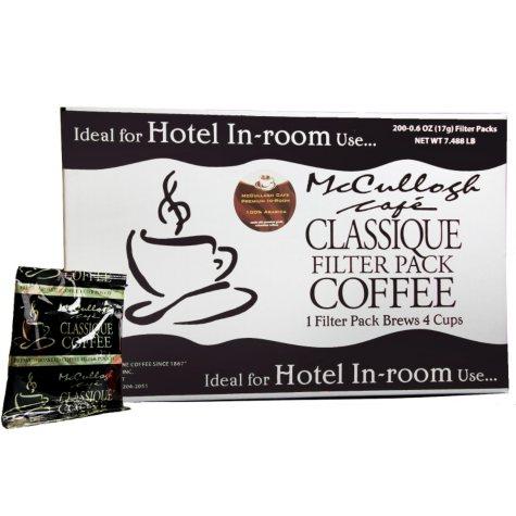 McCullagh Café Classique Premium Blend Coffee (200 ct.)