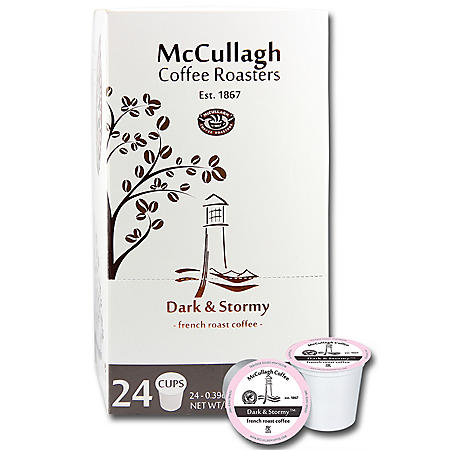 McCullagh Coffee Roasters Dark & Stormy French Roast Coffee (96 ct.)