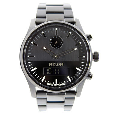 Men's Duo Stainless Steel Watch by Nixon