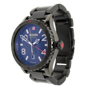 Men's Diplomat SS Swiss GMT Watch by Nixon