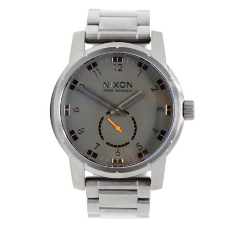 Men's Patriot Stainless Steel Watch by Nixon