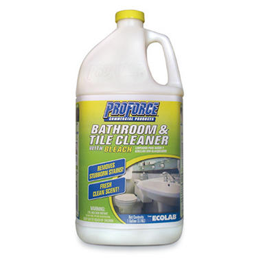 Bathroom Tiles Cleaner proforce® bathroom & tile cleaner - 1 gal. - sam's club