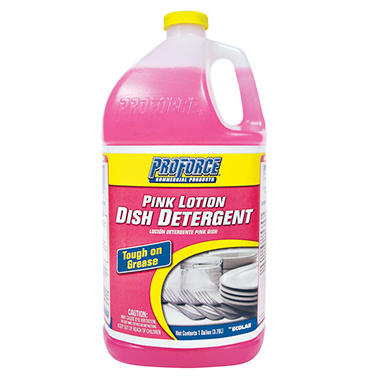 ProForce Pink Lotion Dish Detergent - 1 gal.