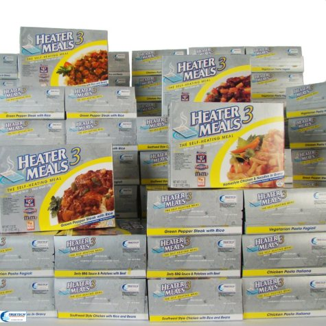 HeaterMeals 3 Assorted 48 Meal Pack