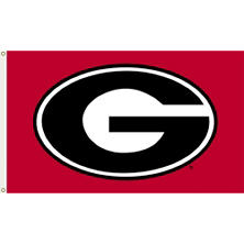 NCAA Georgia Bulldogs 3' x 5' Flag with Pole Mount Kit