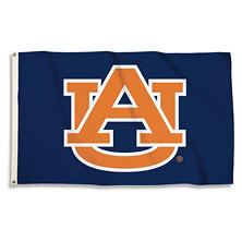 NCAA Auburn Tigers 3' x 5' Flag with Pole Mount Kit