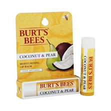Burt's Bees Coconut & Pear Moisturizing Lip Balm (.15 oz. tube)