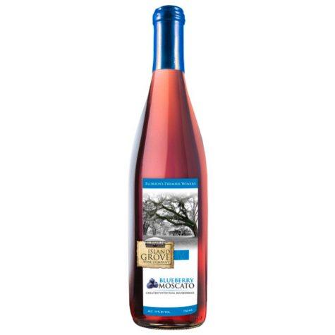 Island Grove Blueberry Moscato (750 ml)