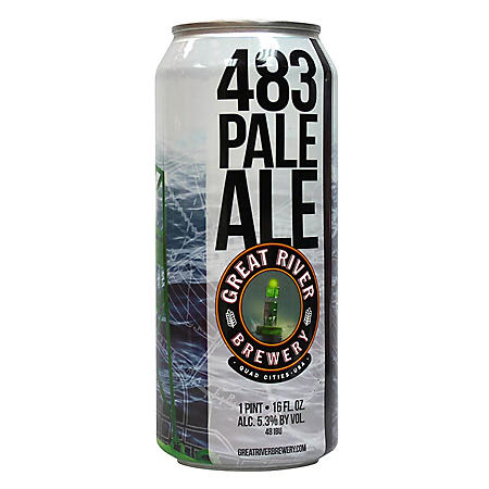 GREAT RIVER 483 PALE 24 / 16 OZ CANS