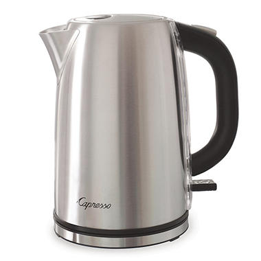 Capresso H2O Electric Water Kettle, Stainless Steel