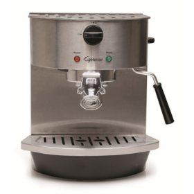 Capresso Stainless-Steel Pump Espresso and Cappuccino Machine