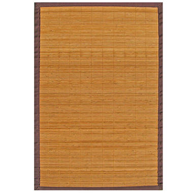 Bamboo Rug - Villager 4 x 6 Natural