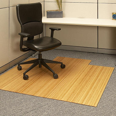 Anji Mountain Bamboo Roll-Up Chairmat, 55