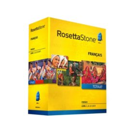 Rosetta Stone French Level 1-5 Set - PC/Mac