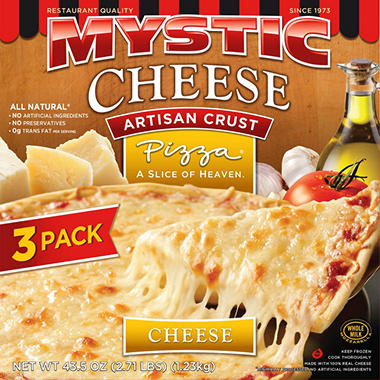 Mystic Pizza Artisan Cheese Pizza (43.5 oz., 3 ct.)