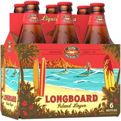 Kona Longboard Lager (12 fl. oz. bottle, 6 pk.)