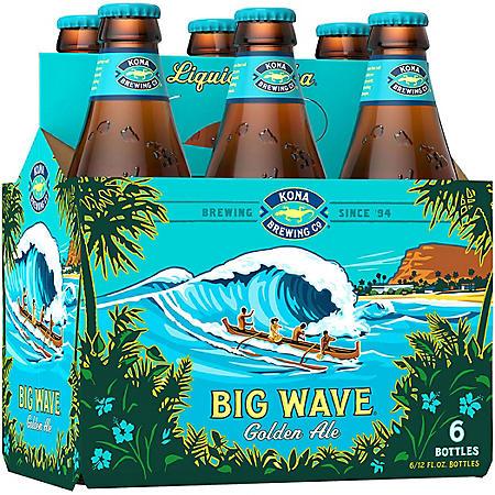 Kona Big Wave Golden Ale (12 fl. oz. bottle, 6 pk.)