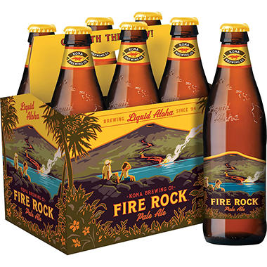 KONA FIRE ROCK 6 / 12 OZ BOTTLES