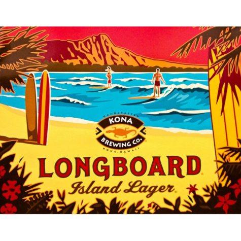 Kona Longboard Lager (12 fl. oz. can, 12 pk.)