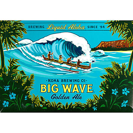 Kona Big Wave Golden Ale (12 fl. oz. can, 12 pk.)