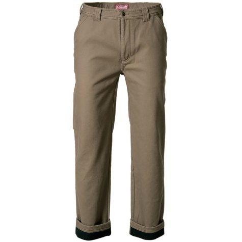 Coleman Men's Fleece Lined Pant