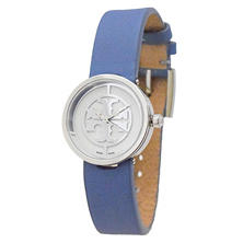 Women's Reva Leather Watch by Tory Burch
