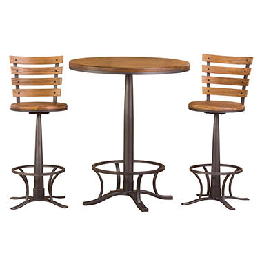 Westview Bar Height Bistro Table With Westview Stools