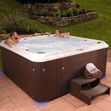Everlast Spas Indulgence 85-Jet Acrylic Spa