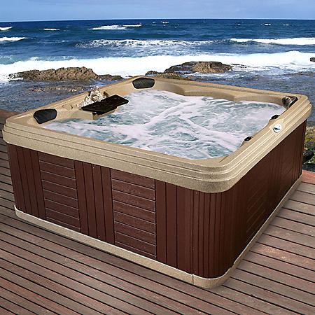 Everlast Spas Southport 26-Jet Spa, Cobblestone
