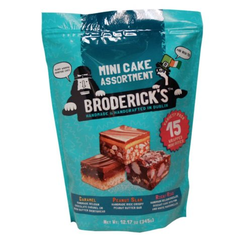 Broderick's Mini Cake Assortment (15 ct.)