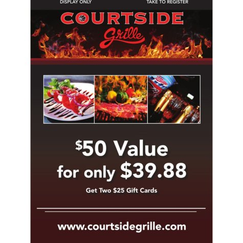 Courtside Grille - 2 x $25