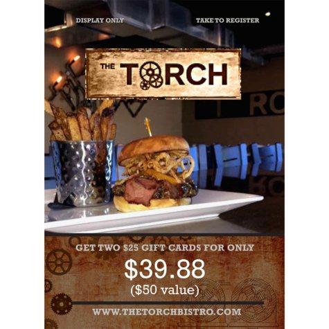 Torch Bistro - 2 x $25
