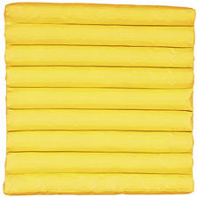 Mina Victory Yellow Outdoor Seat Cushion