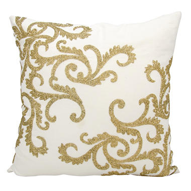 Gold Beaded Corner Scroll 20