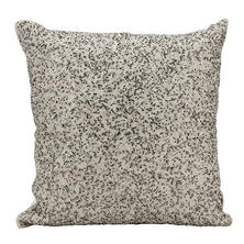 "Pewter/Silver Broken Mirror 18"" x 18"" Decorative Pillow By Nourison"