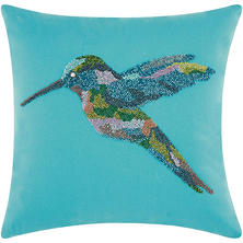 Mina Victory Beaded Outdoor Throw Pillow (Various Styles)