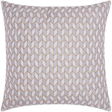 Silver Gold Block Chevron 20