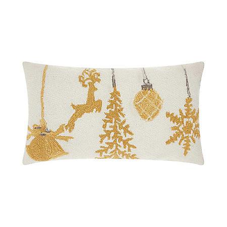 Nourison Ornaments Decorative Pillow