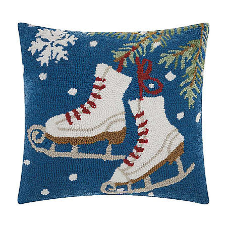Nourison Ice Skates Decorative Pillow