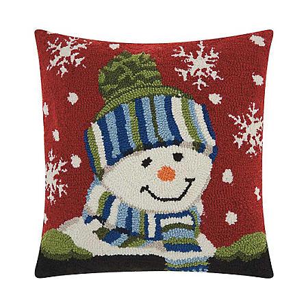 Nourison Snow Boy Decorative Pillow