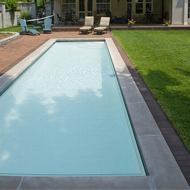 12' x 24' In-Ground Pool Solar Blanket - Clear