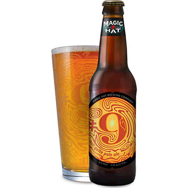 Magic Hat #9 Not Quite Pale Ale (12 fl. oz. bottle, 12 pk.)