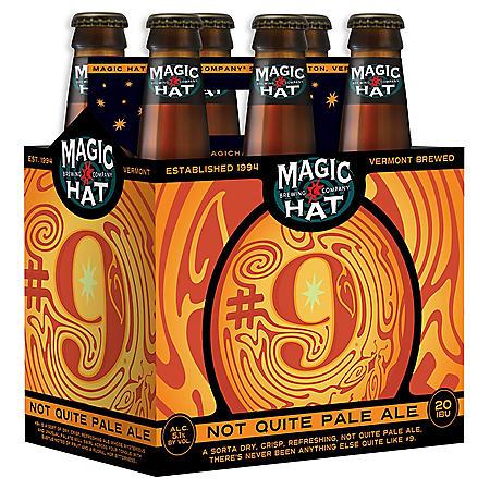 MAGIC HAT #9 ALE 6 / 12 OZ BOTTLES