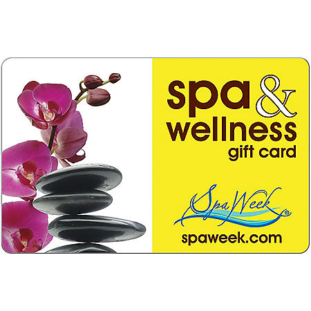Spa & Wellness eGift Card by Spa Week - Various Amounts (Email Delivery)