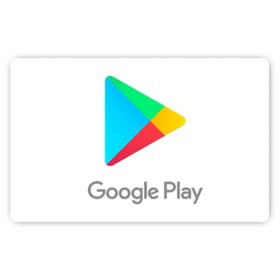 Google Play eGift Card (Email Delivery) - Various Amounts