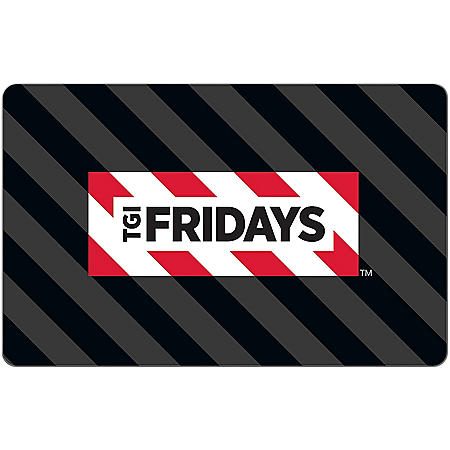 TGI Fridays eGift Card -Various Amounts (Email Delivery)