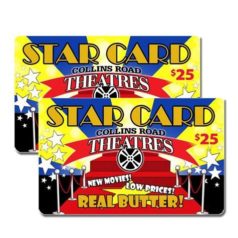 Collins Road Theatres - 2 x $25