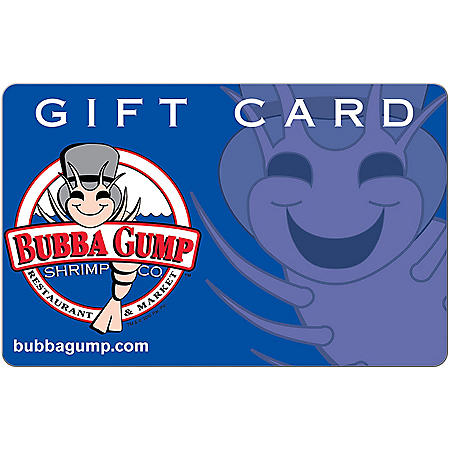 Bubba Gump Shrimp Co. eGift Card (Email Delivery)